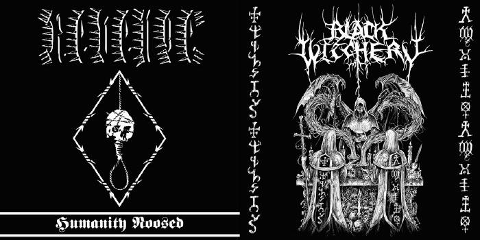 Black Witchery Revenge Split