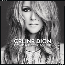 Celine Dion - Loved Me Back To Life PNG