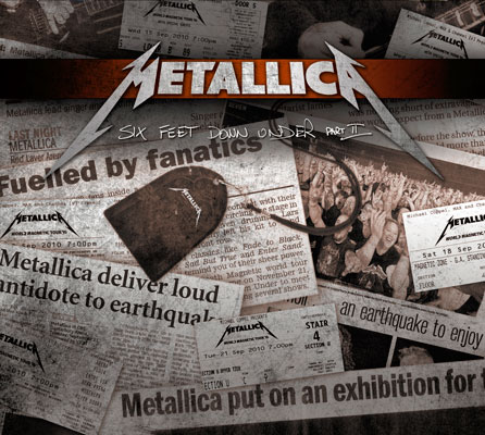 Metallica - Six Feet Down Under Pt 2 EP